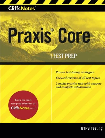 Cliffsnotes Praxis Core (Cliffsnotes (Paperback))