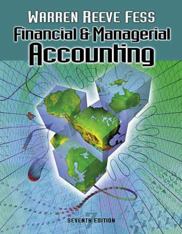Financial And Managerial Accounting (Financial & Managerial Accounting)