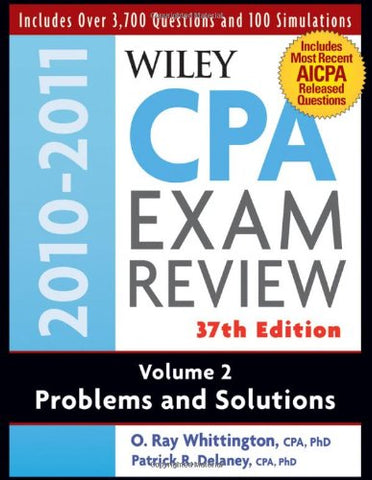 Wiley Cpa Examination Review, Problems And Solutions (Volume 2)