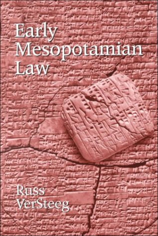 Early Mesopotamian Law