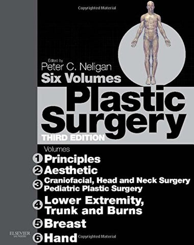 Plastic Surgery: 6-Volume Set: Expert Consult Premium Edition - Enhanced Online Features And Print, 3E