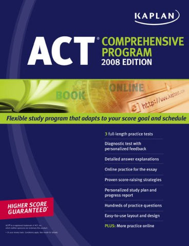 Kaplan Act 2008 Comprehensive Program