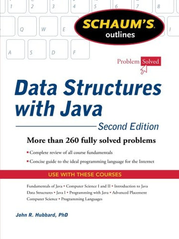 Schaum'S Outline Of Data Structures With Java, 2Ed (Schaum'S Outlines)