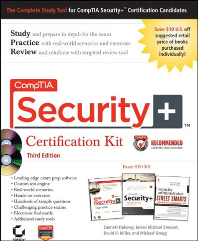 Comptia Security+ Certification Kit Recommended Courseware: Exam Sy0-301