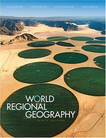 World Regional Geography (9Th Edition)