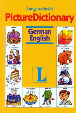 Langenscheidt Picture Dictionary: German/English (German And English Edition)