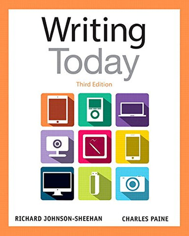 Writing Today Plus Mywritinglab With Pearson Etext - Access Card Package (3Rd Edition)