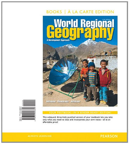 World Regional Geography: A Development Approach, Books A La Carte Edition (11Th Edition)