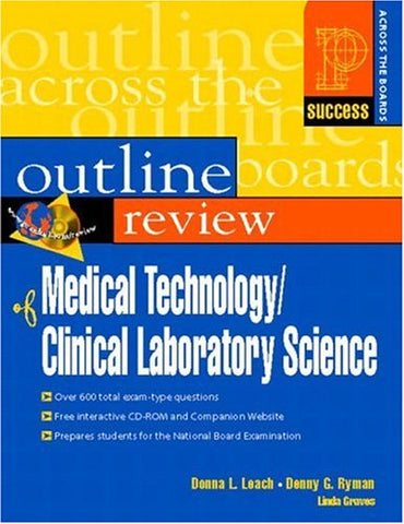 Prentice Hall Health'S Outline Review Of Medical Technology/Clinical Laboratory Science