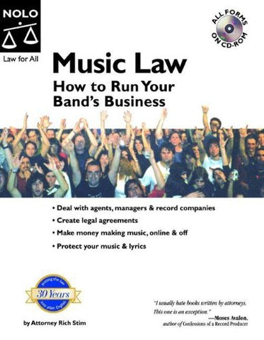 Music Law: How To Run Your Band'S Business With Cd
