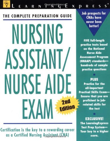 Nursing Assistant / Nurse Aid Exam (Second Edition)