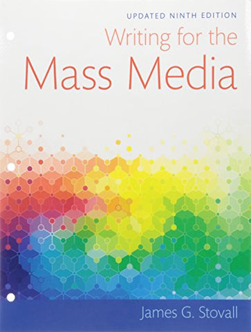 Writing For The Mass Media, Books A La Carte (9Th Edition)
