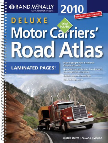 Rand Mcnally 2010 Motor Carriers Road Atlas (Rand Mcnally Motor Carriers' Road Atlas)