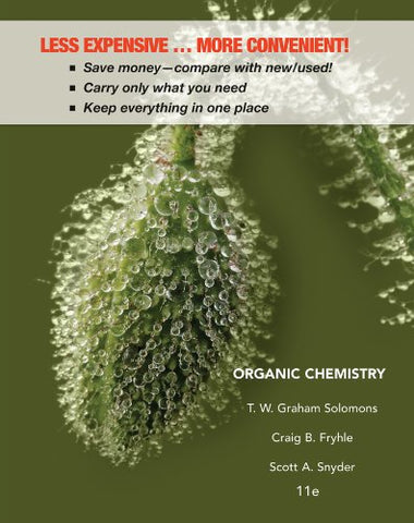 Organic Chemistry 11E Binder Ready Version + Wileyplus Registration Card