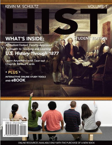 Hist: Volume I: To 1877 (With Review Cards And History Coursemate With Ebook, History Premium Web Site, Wadsworth American History Resource Center ... Access Card) (Available Titles Coursemate)