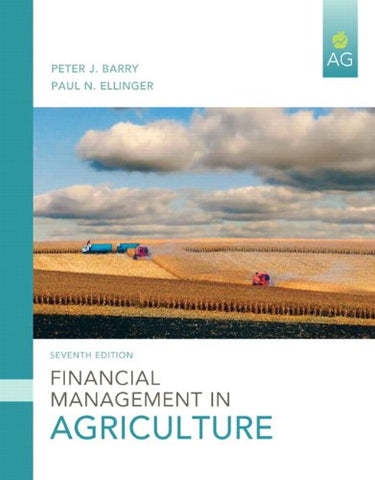 Financial Management In Agriculture (7Th Edition)