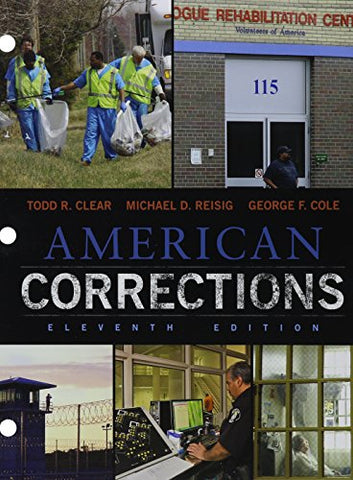 Bundle: American Corrections, Loose-Leaf Version, 11Th + Mindtap Criminal Justice, 1 Term (6 Months) Printed Access Card