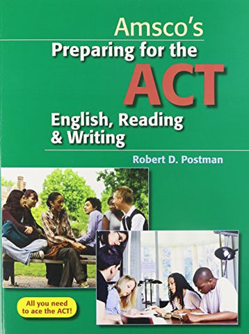 Preparing For The Act English, Reading & Writing - Student Edition