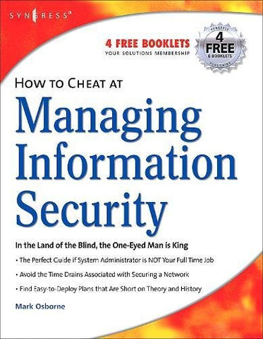 How To Cheat At Managing Information Security