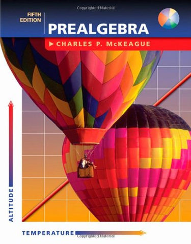 Prealgebra (With Cd) (5Th Edition) (Available Titles Cengagenow)