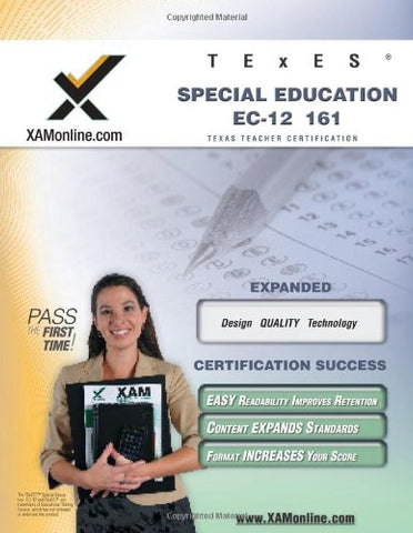 Texes Special Education Ec-12 161 Teacher Certification Test Prep Study Guide (Xam Texes)