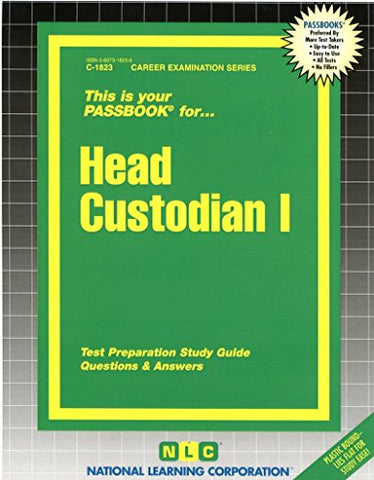 Head Custodian I(Passbooks) (Career Examination Passbooks)