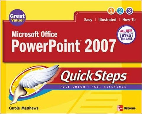 Microsoft Office Powerpoint 2007 Quicksteps