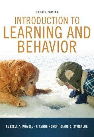 Introduction To Learning And Behavior (Psy 361 Learning)