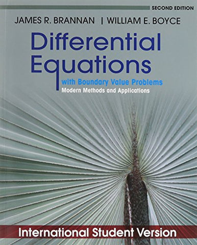 Differential Equations With Boundary Value Problems: Modern Methods And Applications