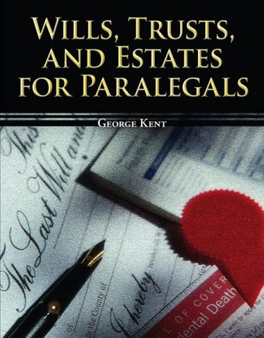 Wills, Trusts, And Estates For Paralegals (Mcgraw-Hill Paralegal Titles)