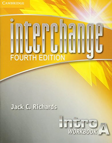 Interchange Intro Workbook A (Interchange Fourth Edition)