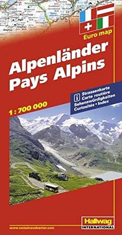 Alpenlnder / Alpine Countries (Road Map)