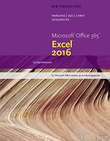 New Perspectives Microsoft Office 365 & Excel 2016: Comprehensive (Mindtap Course List)