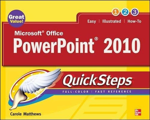 Microsoft Office Powerpoint 2010 Quicksteps