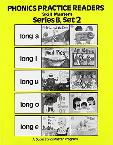 Phonics Practice Readers Series B Set 2 Skillmasters