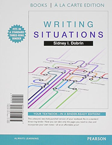Writing Situations, Books A La Carte Plus Mylab Writing With Pearson Etext -- Access Card Package