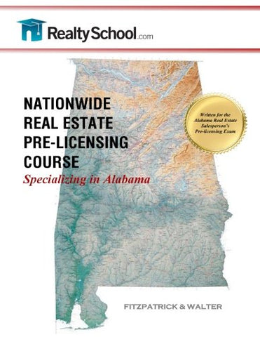 Nationwide Real Estate Pre-Licensing Course:  Specializing In Alabama