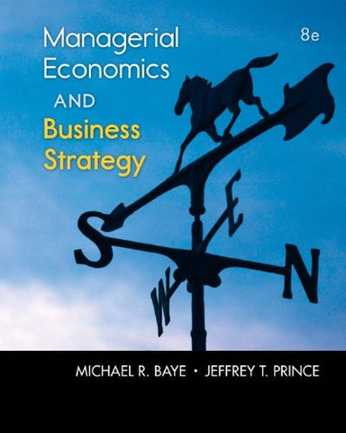 Managerial Economics & Business Strategy With Connect Access Card (The Mcgraw-Hill Series Economics)