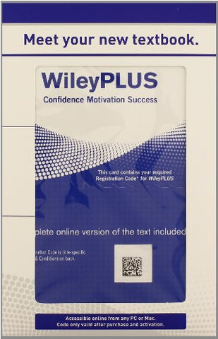 Organic Chemistry: Wileyplus Student Package (Wiley Plus Products)