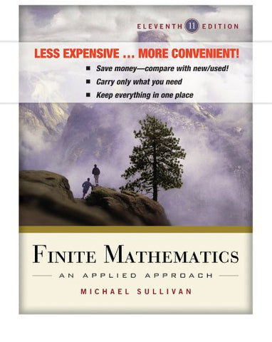 Finite Mathematics, Binder Ready Version: An Applied Approach