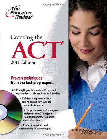 Cracking The Act With Dvd, 2011 Edition (College Test Preparation)