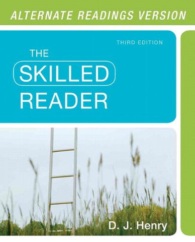 Skilled Reader, The, Alternate Edition (3Rd Edition)