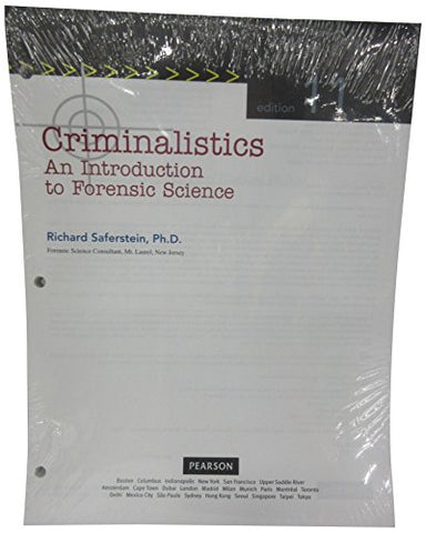 Criminalistics: An Introduction To Forensic Science, Student Value Edition (11Th Edition)