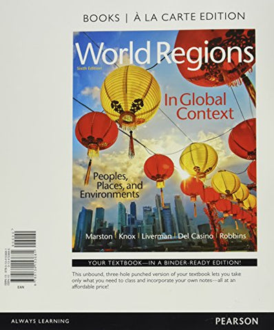 World Regions In Global Context: Peoples, Places, And Environments, Books A La Carte Plus Mastering Geography With Pearson Etext - Access Card Package (6Th Edition)