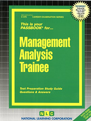 Management Analysis Trainee