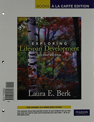 Exploring Lifespan Development, Books A La Carte Edition (With Mydevelopmentlab Coursecompass -- Access Card Package (2Nd Edition)