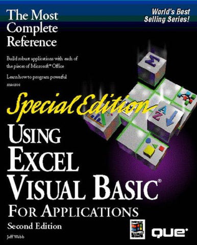 Using Excel Visual Basic For Applications, Special Edition