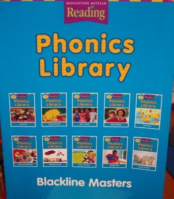 Houghton Mifflin Reading: The Nation'S Choice: Phonics Library Blackline Masters Grade K