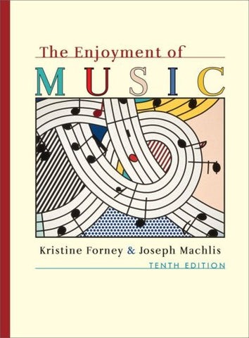 The Enjoyment Of Music An Introduction To Perceptive Listening Tenth Edition