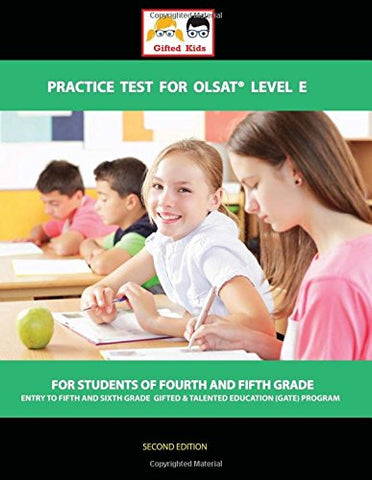 Gifted Kids Practice Test For Olsat Level E: For Grade 4 And 5 Students